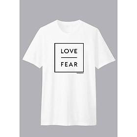 Áo thun Gia Đình Unisex Dotilo Tshirt LOVE FEAR - d710