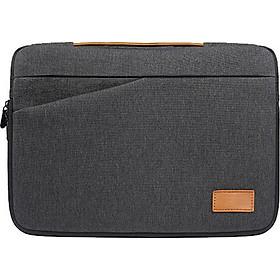 Túi chống sốc Macbook Air, Macbook Pro, Laptop sọc đan chéo kèm quai xách