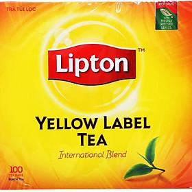 Trà Lipton Nhãn Vàng 100 gói x 2G