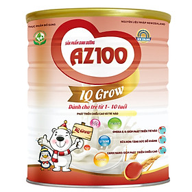 3 Hộp Sữa dinh dưỡng AZ100 IQ GROW 900G