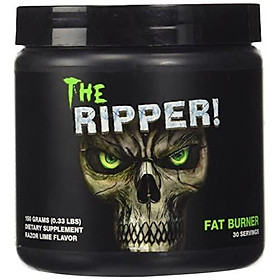JNX Sports The Ripper! Thermogenic Fat Burner - Weight Loss Supplement, Appetite Suppressant, Metabolism & Energy Booster - Acetyl L-Carnitine, Green Tea Extract - Men & Women   Razor Lime   30 Srv