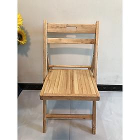 Ghế gỗ xếp gấp gọn ngồi học , ngồi làm việc  VIMOS