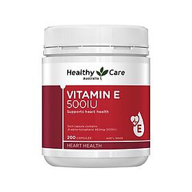 Australia Healthy Care Vitamin E 500IU 200 capsule