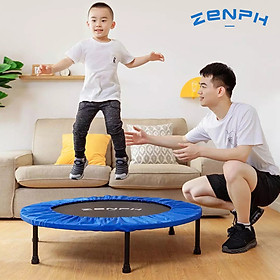 XiaomiZenph Foldable Muted Round Trampoline Kids Indoor Entertainment Tool Adult Fitness Workout Stability Training Trampoline-1