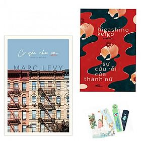 Combo 2 cuốn: Cô Gái Như Em + Sự Cứu Rỗi Của Thánh Nữ - Tặng Kèm bookmark