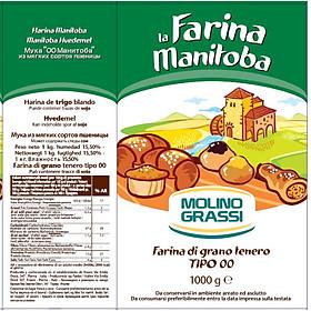 Bột Làm Bánh Mì Manitoba 1kg