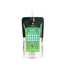 Thùng 24 Pouch/carton Nước ép Mía Tắc 220ml Thức uống thể thao bù đường tự nhiên LE FRUIT SPORT DRINK