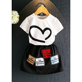 Sét áo và chân váy cho bé gái Haint Boutique qa19