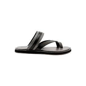 Dép Nam Đế Bằng Da Thật Gosto Arizona Sandal GDM003800GRY (Xám)