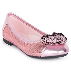 Giày búp bê bé gái Crown Space Crown UK Princess Ballerina CRUK3102 - Màu Hồng