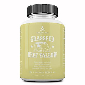 Ancestral Supplements Grass Fed Beef Tallow — Based On The Native Wisdom of Our Early Ancestors, Tallow Provides The Same Nourishing Kidney Fat (Suet) That Our Ancestors Selectively Hunted.