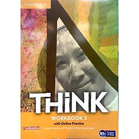 Think Workbook with Online Practice Level 3 (B1+)