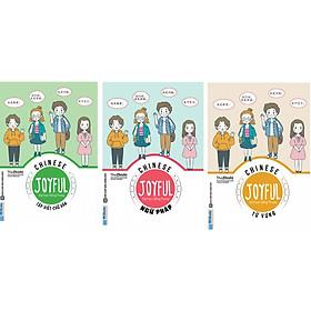 Combo 3 Cuốn JOYFUL CHINESE – VUI HỌC TIẾNG TRUNG ( Từ Vựng + Ngữ Pháp + Tập Viết Chữ Hán ) tặng kèm bookmark