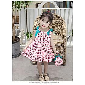 Váy đầm sát nách công chúa cho bé gái từ 8-20kg