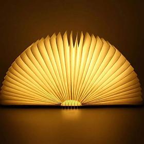 Đèn LED để bàn hình quyển sách gấp gọn độc đáo