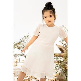 Váy ren nhún eo bé gái MBD5320
