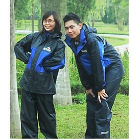 Bộ Áo Mưa Vải Dù Cao Cấp Lion 2 Lớp – Không Thấm Size XL