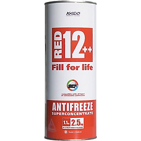 Dung Dịch Làm Mát XADO Antifreeze Red 12++ (1.1Kg) - Hàng Chính Hãng