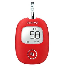 Bộ máy đo đường huyết Sinocare Safe AQ tặng 1 hộp 50 que thử đường huyết và hộp 50 kim chích máu