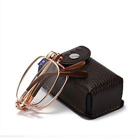 Gọng kính gập chuyên dùng thay mắt có bao đeo hông cực tiện gọng kính cận