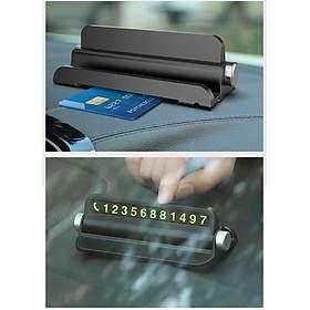 Bảng số điện thoại ô tô Y6962 có khe để Smartphone