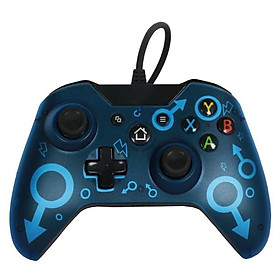 Wired Gaming Controller PC Interface Dual-Vibration