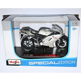 Xe mô tô MAISTO Ducati 848 08011-MT39300