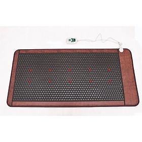 Thảm đá nóng hàn quốc, ion âm, hồng ngoại, lazer 91x191 tặng thảo dược nằm giảm đau nhức
