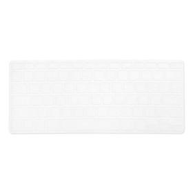 TPU Keyboard Cover Dustproof Keyboard Protective Film Compatible with Apple MacBook Air 13.3 inch A1466/A1369 White