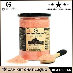 Muối hồng Himalaya GUfoods (dạng hạt mịn) - Tự nhiên, Tinh khiết, Giàu khoáng chất