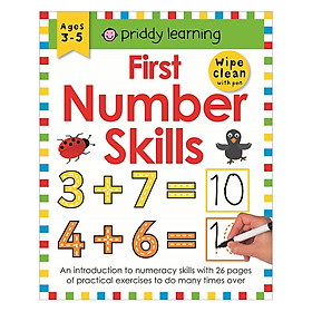 First Number Skills: Wipe Clean Workbooks