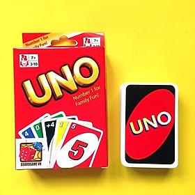 Bộ bài Uno Giấy cứng giải trí
