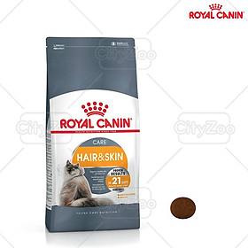 Thức ăn cho mèo giúp dưỡng lông Royal Canin Hair and Skin Care 400g