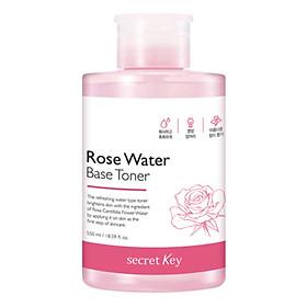Nước Hoa Hồng Dưỡng Ẩm, Làm Sáng Da Secret Key Rose Water Base Toner 550ml