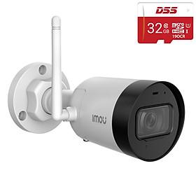 Trọn Bộ Camera IP Imou IPC-G22P 2.0MP Full HD 1080P và Thẻ Nhớ DSS 32Gb - Hàng Chính Hãng