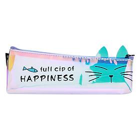 Bóp Viết Hologram Trong Hình Mèo - Con Cá