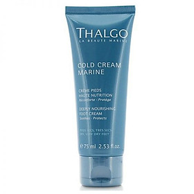 Kem dưỡng da chân Thalgo Cold Cream Marine Deeply Nourishing Foot Cream 75ml