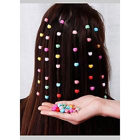 Kẹp tóc càng cua nhỏ màu sắc