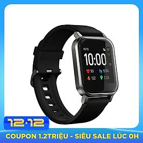 Đồng hồ thông minh XIAOMI Haylou LS02 Phiên bản tiếng Anh 12 Chế độ thể thao IP68 màn hình LCD 1,3 inch chống nước LS01 phiên bản cập nhật