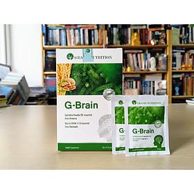 Bốn hộp cốm sữa tảo non G-Brain bổ sung dinh dưỡng cho bé