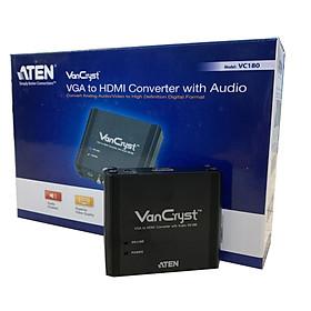 Converter VGA/Audio to HDMI aten VC180 - Hàng chính hãng