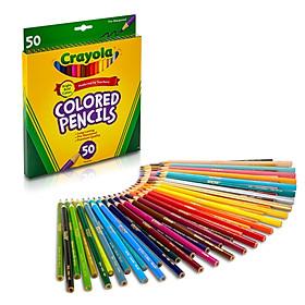 Hộp 50 bút chì màu Crayola chuốt sẵn