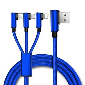 Dây Cáp Chuyển Đổi 3 Trong 1 USB Type C Cho iPhone Và Đầu Sạc USB Cho Android