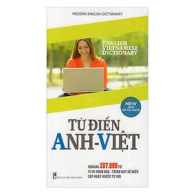 Từ Điển Anh - Việt (287.000 Từ)