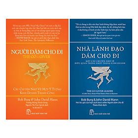Combo 2 Cuốn Người Dám Cho Đi, Nhà Lãnh Đạo Dám Cho Đi