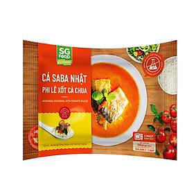 [Chỉ Giao HCM] - Cá Saba Nhật Phi Lê Xốt Cà Chua Sài Gòn Food Gói 240g