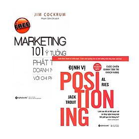 Combo Sách Marketing: Định Vị + Free Marketing – 101 Ý Tưởng Phát Triển Doanh Nghiệp Với Chi Phí Thấp
