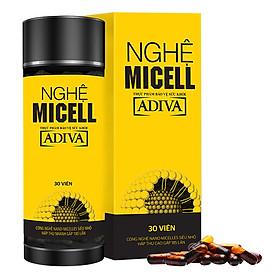 Thực Phẩm Bảo Vệ Sức Khỏe Nghệ Micell Adiva (720mg x 30 viên / Hộp)