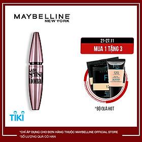 Mascara Dài Mi Và Tơi Mi Tự Nhiên Maybelline New York Lash Sensational Waterproof Chuốt Mi Không Lem Không Trôi 10ml
