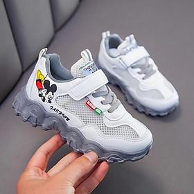 Giày trẻ em rẻ đẹp   Giày thể thao lưới micky cực hot cho bé trai bé gái